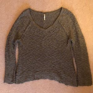 Green freepeople sweater